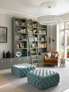 WIMBLEDON HOUSE - Transitional - Living Room - London