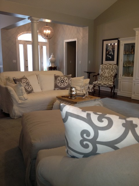 Windham residence traditional-living-room