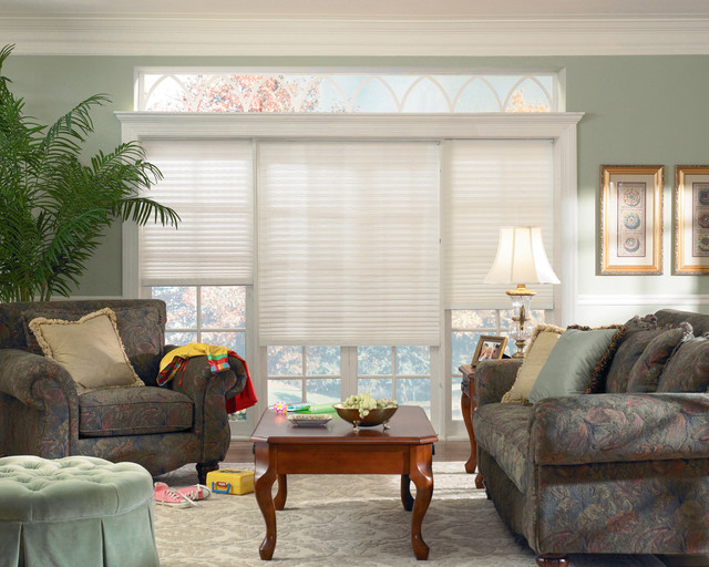 Window coverings - Houzz window treatments living room ...