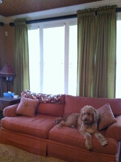 Window Fashions traditional-living-room