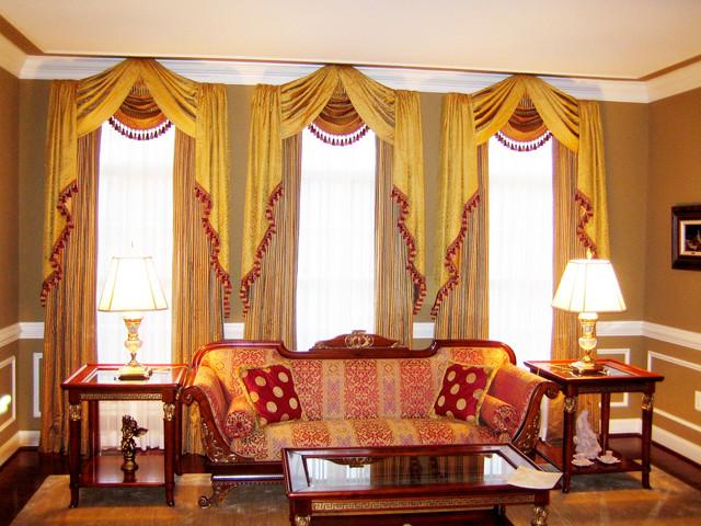Window treatment for International decor window treatments