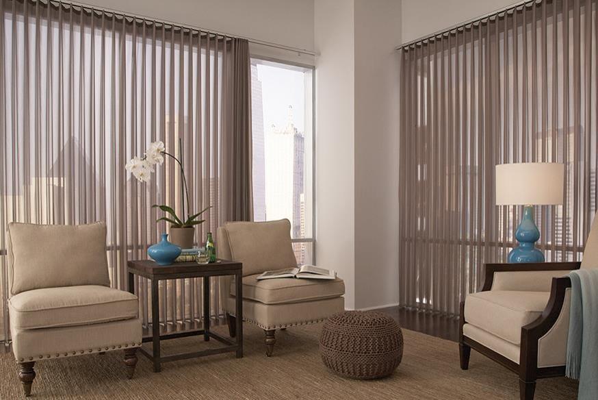 Vertical Blinds Modern Living Room, Window Treatment Ideas For Living Room