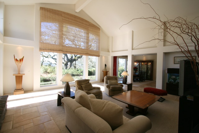 Window Treatments Modern Living Room Other By ARC Design