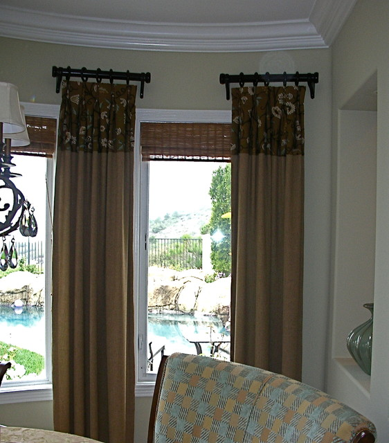 Window treatments for Living room window blinds