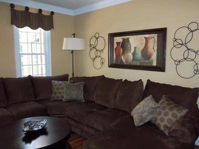 Window Treatments traditional-living-room