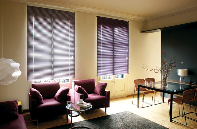 Window Treatments Contemporary Living Room Miami By Kathryn Interiors