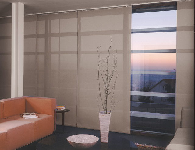 Window treatments modern living room miami by - Houzz window treatments living room ...