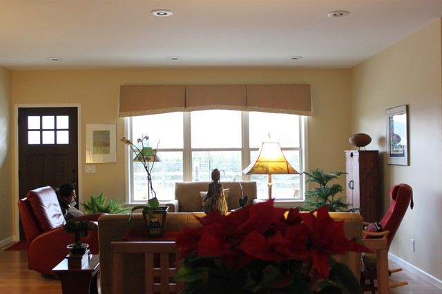 Window Treatments Contemporary Living Room Other By Kim 39 S Upholst