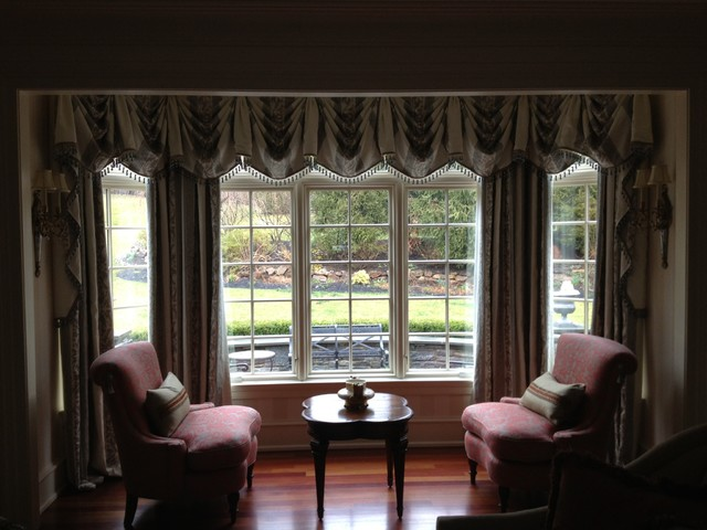 Window Treatments Traditional Living Room Philadelphia By Ron Lapides