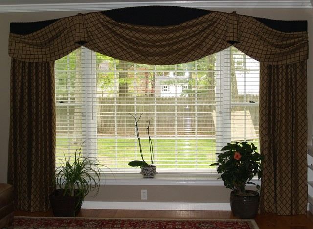 window treatments traditional living room other