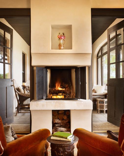 Windsor Residence mediterranean-living-room