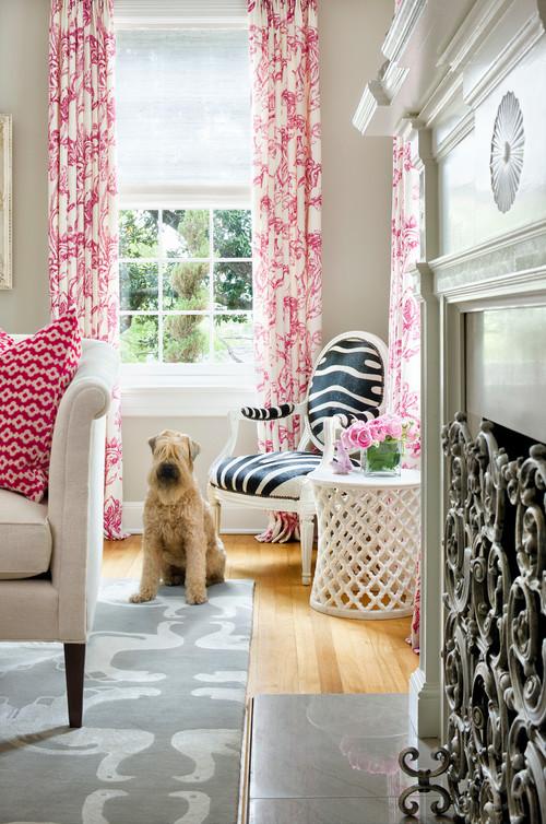 Transitional Living Room by Minneapolis Interior Designers & Decorators Martha O'Hara Interiors