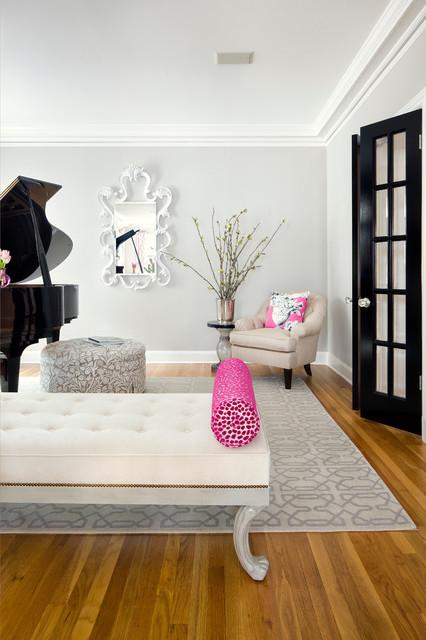 Windsor Road Residence - Austin, TX transitional-living-room