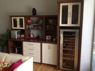 Wine Cooler Wine Bar Pantry Storage Contemporary