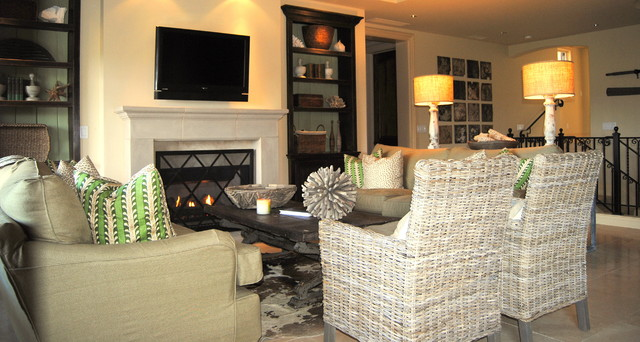 wine country retreat traditional-living-room