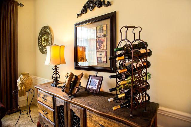 Wine Lounge traditional-living-room