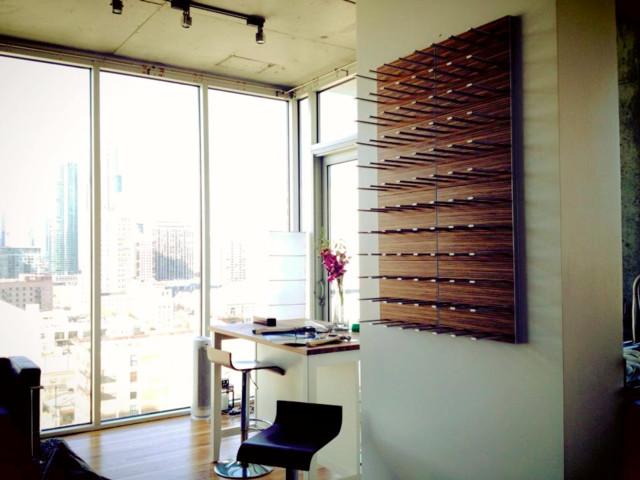 wine storage for urban condo living stact modular wine wall