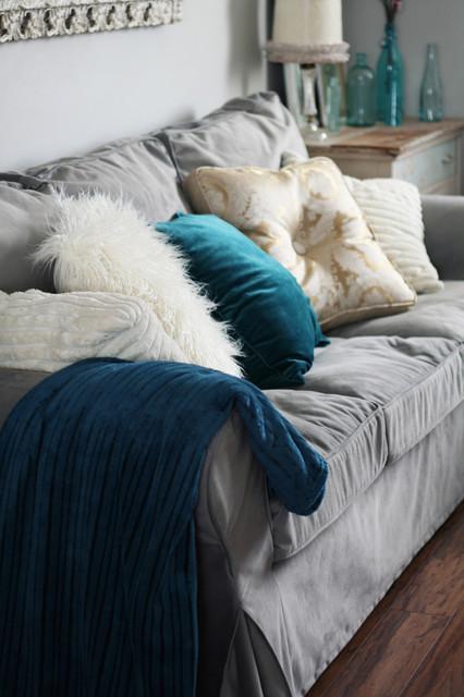 Winter Living Room eclectic-living-room