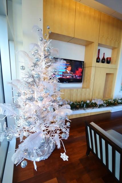 Winter Wonderland contemporary-living-room
