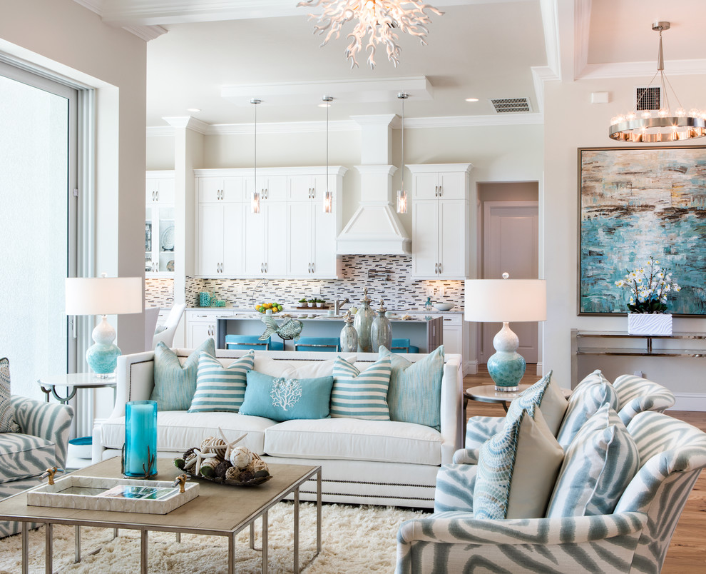Winterberry Model Living Room - Beach Style - Living Room ...