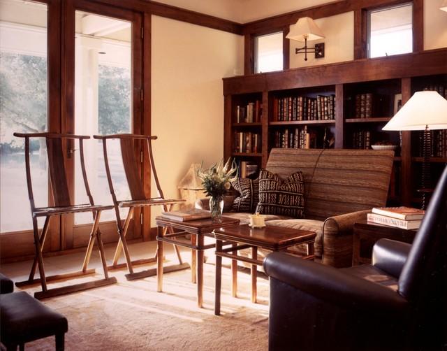 Wiseman House modern-living-room