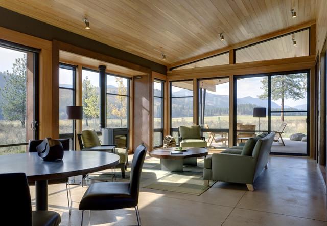 Wolf Creek modern-living-room