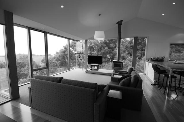 Wongarra Residence modern-living-room