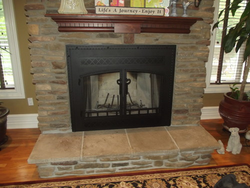 New Construction Hubby Wants A Wood Burning Fireplace Wifey Not Sure