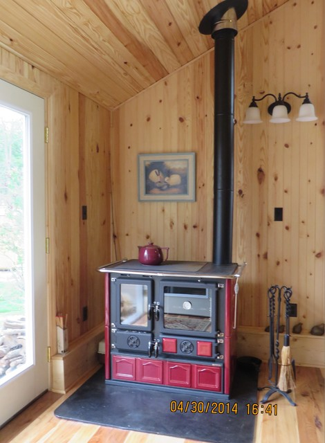 how to fit a stove with boiler