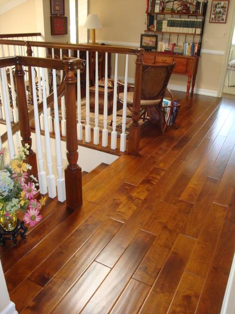 Wood Flooring traditional-hall
