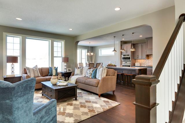 Merveilleux Woodbridge   Spring 2015 Parade Of Homes (Lakeville, MN) Living Room