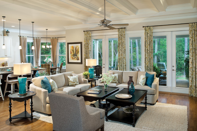 Woodcliff 1173 Traditional Living Room Tampa By