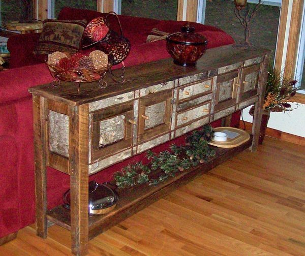 Woodland Creek Furniture eclectic-living-room