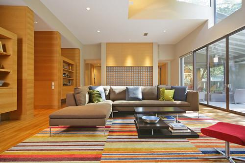 Living Room Rug Design