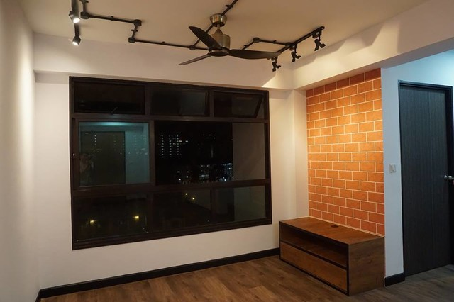 Woodlands Street 31 Bto Hdb 3 Room Flat Contemporary Living Room Singapore By Performance Coatings International Houzz Uk