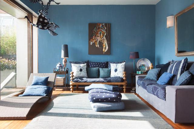 Woodstock Studios Shepherds Bush London W12 Eclectic Living Room