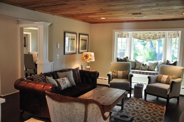Woodstone Renovation LLC traditional-living-room