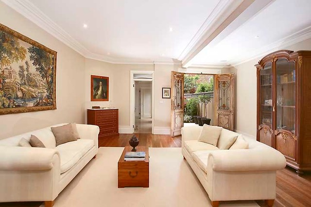 Woollahra House Contemporary Living Room Sydney By