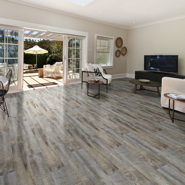 World Of Flooring Excellence Plank Tavern Grey Rustic Living