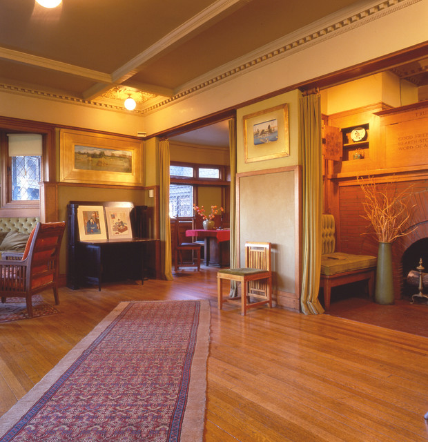 Wright Home And Studio Traditional Living Room By