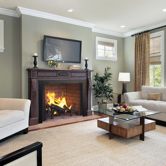 WRT4500 Wood Burning Fireplace By Superior Traditional Living Room Or