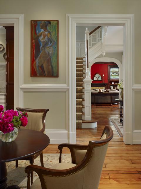 Wyndmoor Residence Living Room Traditional Living Room