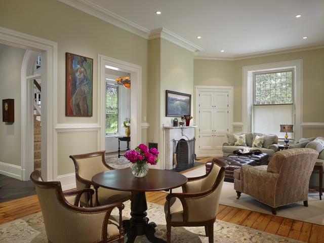 Wyndmoor Residence Living Room traditional-living-room
