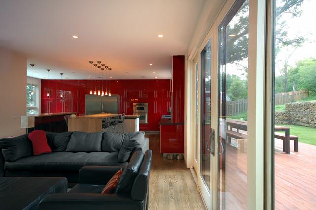 X-Line 003   kitchen modern-living-room