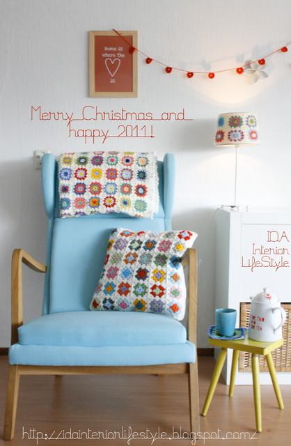 Xmas IDA eclectic-living-room
