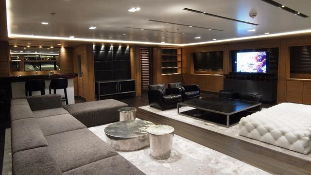 Yacht LED Lighting Design Modern Living Room Part 35
