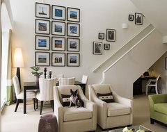 Yaletown Loft contemporary-living-room