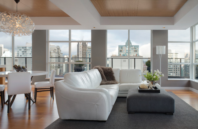 Yaletown vancouver penthouse contemporary living room Home decor yaletown