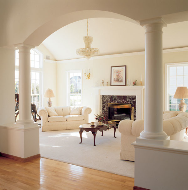 Yogi Milsap Via Luxury Homes mediterranean-living-room