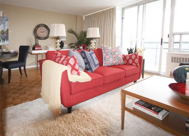 Yonge street condo for Living room 75020